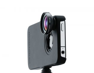 Ipro Lens System Fisheye and Wide Angle Lens Kit for iPhone 4 4S