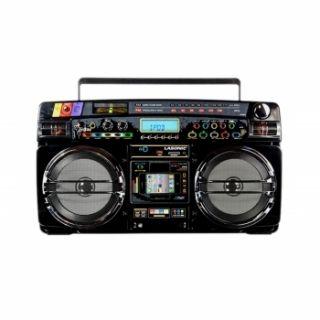Ghetto Blaster iPod iPhone Dock Radio USB  SD MMC