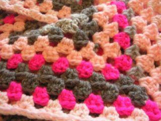New Irish Handmade Crocheted Baby Blanket from Ireland