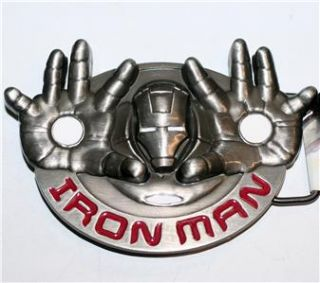 Iron Man Ironman Marvel Comics Superhero Belt Buckle