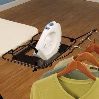 Mega Wide Top Ironing Board Heavy Duty w Iron Rest