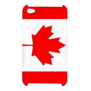 Canada Canadian Flag iPod Touch 4G Hardshell Case