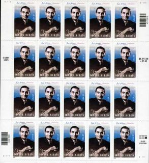 3669 Irving Berlin Mint Pane of 20 37 Cent US Postage Stamps New NH