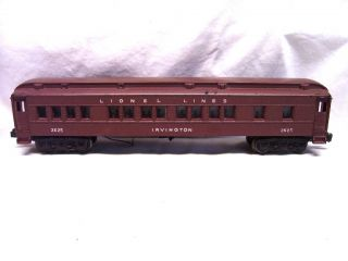 Lionel 2625 Irvington Heavyweight Passenger Car Excl
