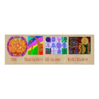 MULTIPLE Image Art   Reiki Karuna Holistic Neck Wear