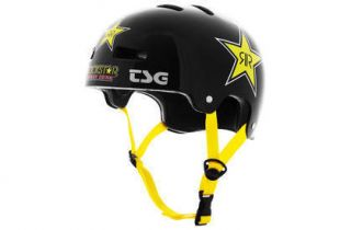 NWT NEW TSG EVOLUTION PRO DESIGN ROCKSTAR BMX SKATE HELMET MENS SMALL
