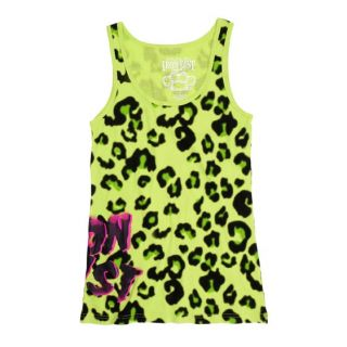Iron Fist Clothing Jungle Fever Green Leopard Tank