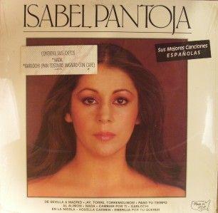 Isabel Pantoja Sus Mejores Canciones Espanoles SEALED