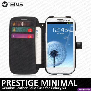 ZENUS Leather Flip Cover Wallet Case Samsung Galaxy S3 III i9300 T999