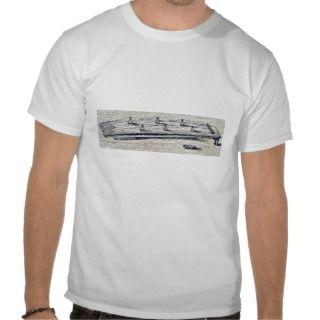koto or Japanese zither Ukiyo e. T Shirt