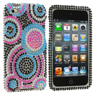 Bubbles Bling Rhinestone Case Cover Accessory for iPod Touch 4th Gen