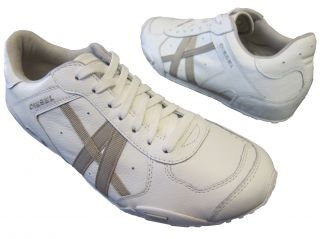 Diesel Mens New Remy White Peyote Leather Casual Lace Up Fashion