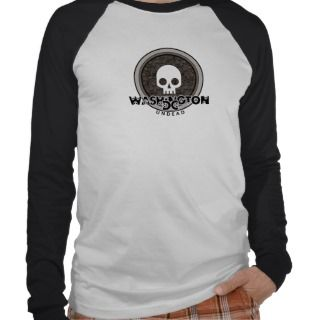 Cute Punk Skull Washington DC T Shirt Jersey