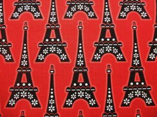 La Tour Eiffel Tower Paris France Timeless Treasures Cotton Fabric