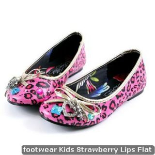 Iron Fist Kids Girls Strawberry Lips Flat US Size 6