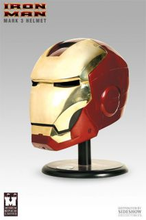 Museum Replicas Iron Man Mark 3 Helmet 1 1 Scale Prop Replica