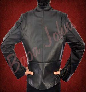 Ironman Tony Stark Retro Slim Fit Style Fashionable Mens Leather