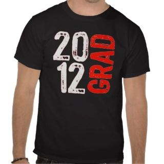 Destroyed 2012 Graduation Design Tshirt