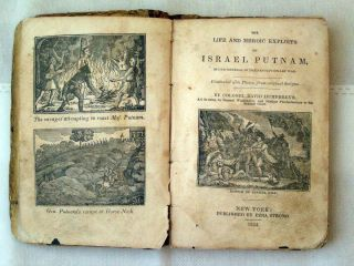 Ed Antique Book Life of General Israel Putnam by Col Humphreys