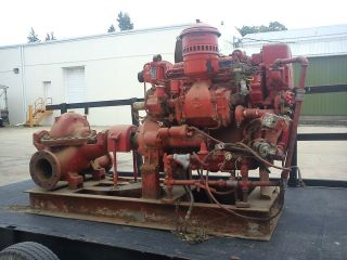 Detroit Diesel 373 Irrigation water pump 0 HOURS generators engine