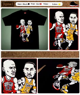 Jordan Kobe Bryant Shirt Lakers Red Bred XI Colorway 11 PE IV Jersey L