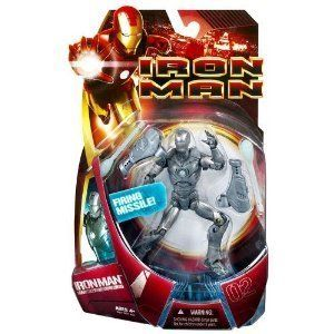 Iron Man Movie Series 1 Action Figure Iron Man Mark 02