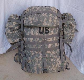 II Large Ruck Sack w Frame Military Issue Backpack USGI Gear