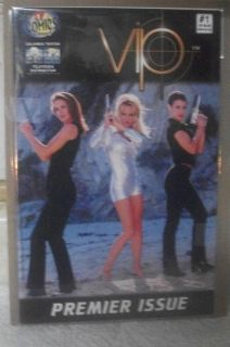 VIP Pamela Anderson Premier Issue Comic Book 2009