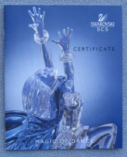 Swarovski Crystal Magic of Dance Isadora Figurine with Stand Mint in