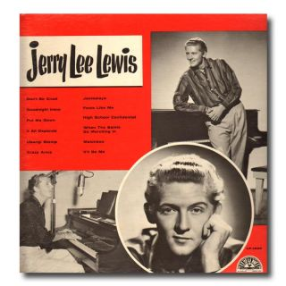 Jerry Lee Lewis Sun 1230 Sun 1265 s T Greatest Original LP Covers Very