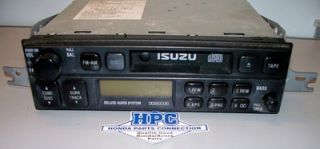 1999 Isuzu Trooper Am FM Radio Cassette Player