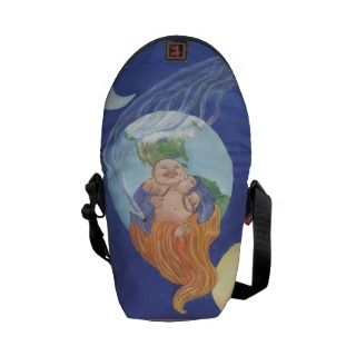 Buddhas Beer World Messenger Bag