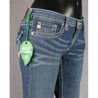 Star Jeans Low Rise Boot Cut Remy Long Pearl White Stitching