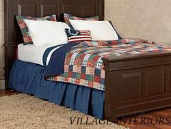 Cambridge Ivy League Plaids Oversize Cotton F Queen Quilt Set
