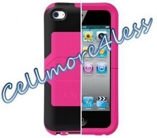 Otterbox iPod Touch 4th 4 Gen Pink Black Reflex Case