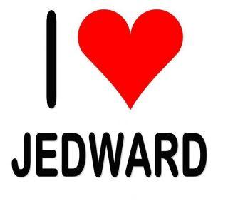 Love Heart Jedward Iron on T Shirt Transfer A4 A5