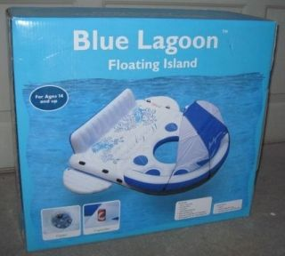 LAGOON FLOATING CARIBBEAN ISLAND POOL LAKE OCEAN FLOAT RAFT SOFINA