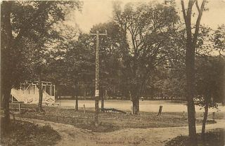 MN Breckenridge Island Park Entrance 1920 R19121