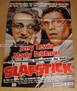 Jerry Lewis Madeline Kahn Slapstick of Another Kind RARE German Orig