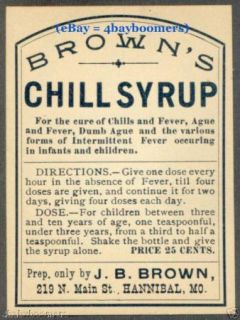 11 1860s Brown Pharmacy Antique Medicine Bottle Labels