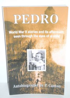 Military Book WW2 German Child Autobio Pedro New 2008