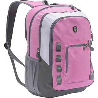 World Willow Laptop Backpack Pink