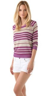 Haute Hippie Striped Sweater