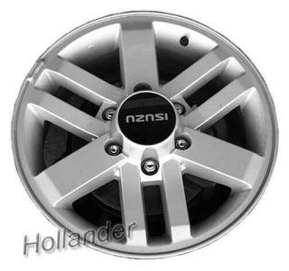 02 03 04 Isuzu Axiom Wheel 17x7 Raised CTR Cap Machined