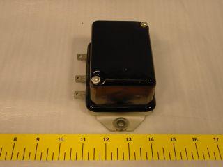 Delco Remy Voltage Regulator 1118303 6V 30 Amp