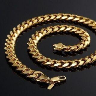 18 Carat Gold Necklace Bracelet Set Curb 823 Y
