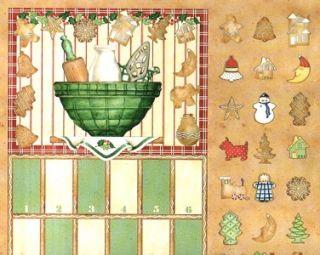 Cookie Cutter Christmas Advent Calendar Wilmington Prints Quilt Shop