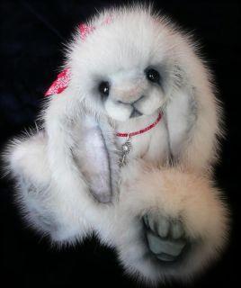 Lop Ear Bunny Rabbit by Published Teddy Bear Artist Jenea Ivey