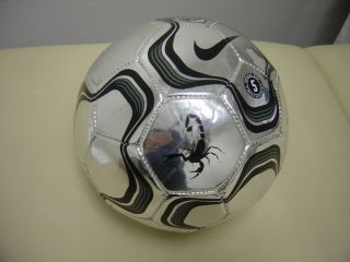 RARE Nike Football Secret Tournament Scorpion KO Chrome Soccer Ball