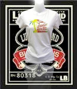 New Womens Lucky Brand Jeans T Shirt Island Romance XS